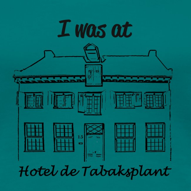 I was at Hotel de Tabaksplant ZWART