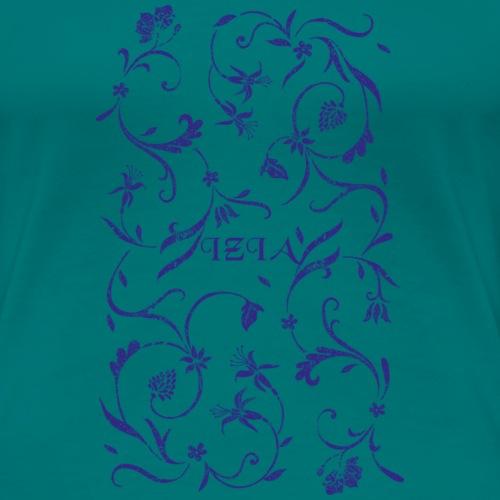 izia schnoerkel - Frauen Premium T-Shirt