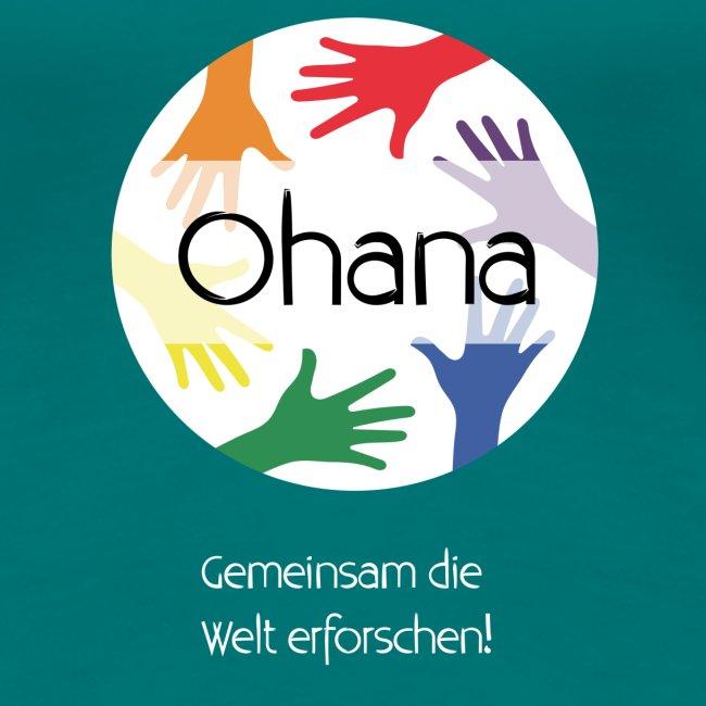 Logo mit weißem Text