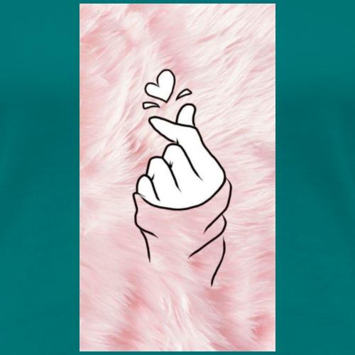 el clic de el AMOR - Camiseta premium mujer