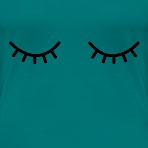 Occhi chiusi - Maglietta Premium da donna