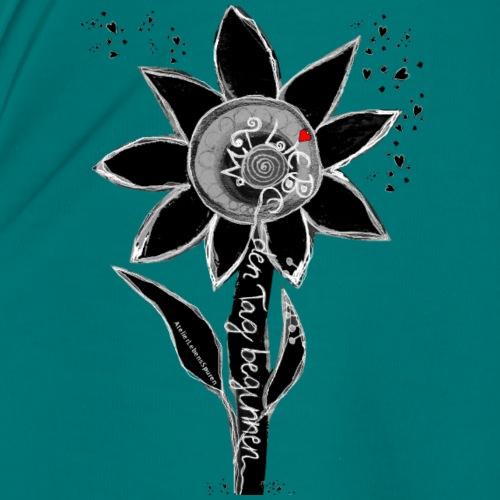 Mit Liebe und Herz den Tag beginnen - Frauen Premium T-Shirt