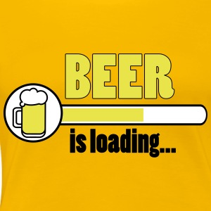 Beer is loading ... - Women's Premium T-Shirt