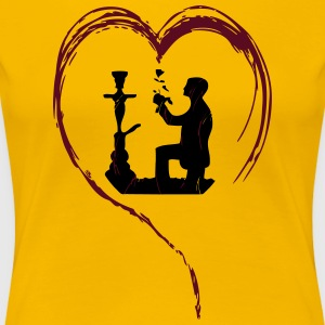 SHISHA LOVE! - Women's Premium T-Shirt