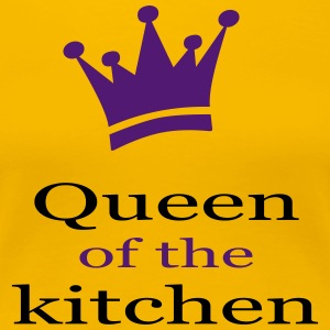 queen of the kitchen - Frauen Premium T-Shirt