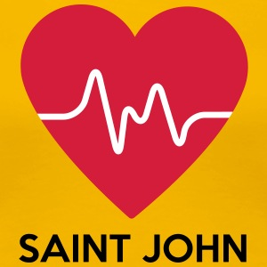 Heart Saint John - Women's Premium T-Shirt