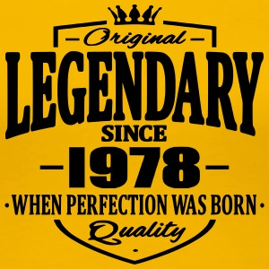 Legendary since 1978 - Women's Premium T-Shirt
