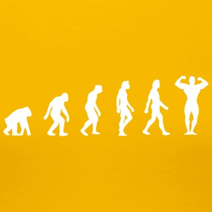 645 the evolution of bodybuilding - Women's Premium T-Shirt