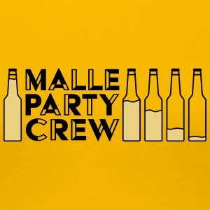 Malle Party Creqw - Dame premium T-shirt