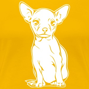 CHIHUAHUA PORTRAIT full body - Women's Premium T-Shirt