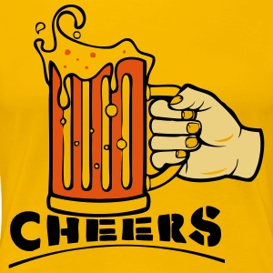 CHEERS! - Women's Premium T-Shirt