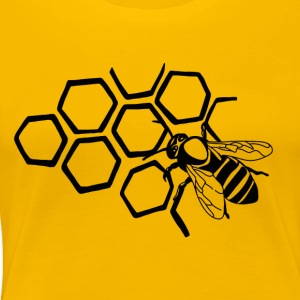 Bee - Women's Premium T-Shirt