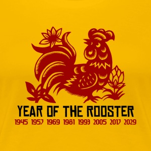 Years of The Rooster - Women's Premium T-Shirt