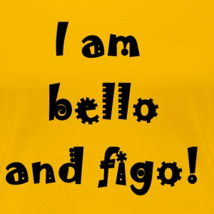 Beautiful and Figo - Women's Premium T-Shirt