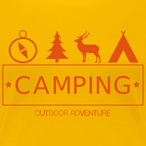 Camping Outdoor Adventure - Women's Premium T-Shirt