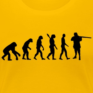 Evolution Hunting Hunting b - Women's Premium T-Shirt