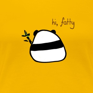 insulting-hi fatty - Women's Premium T-Shirt