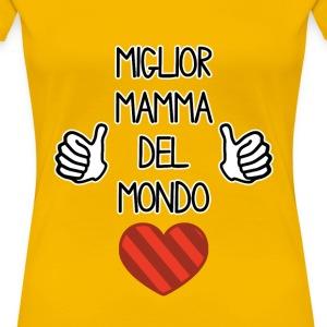 Maglietta Miglior Mamma del Mondo