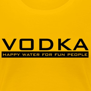 Vodka - happy water - Women's Premium T-Shirt