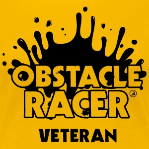 Obstacle Racer Veteran - Women's Premium T-Shirt