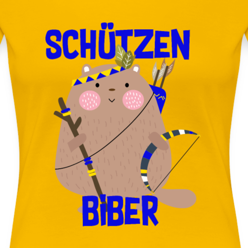 Schützenfest Biber Biberach Biberacher Schützen - Frauen Premium T-Shirt