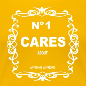 NO 1 CARES - Women's Premium T-Shirt