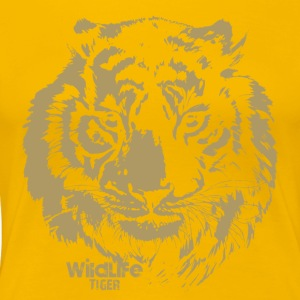 Wildlife · Tiger - Women's Premium T-Shirt