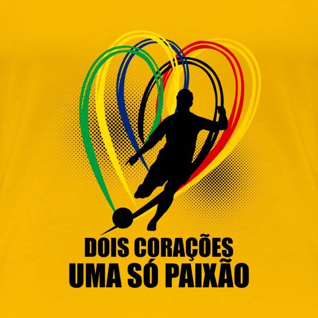 Fußball-Shirt Brasilien - Deutschland