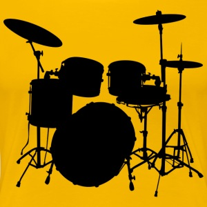 Drums - Women's Premium T-Shirt