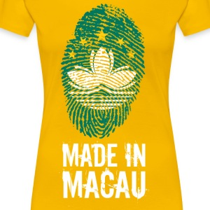 Made In Macau / Macao / 澳門 / 澳门 - Frauen Premium T-Shirt
