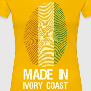 MADE IN IVORY COAST - Women's Premium T-Shirt