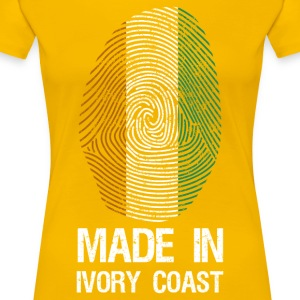 MADE IN IVORY COAST - Dame premium T-shirt