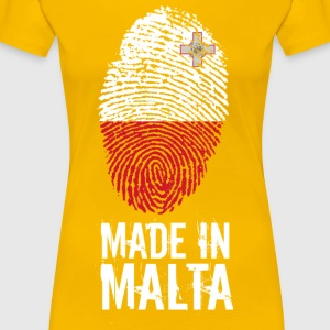 Made In Malta - Frauen Premium T-Shirt