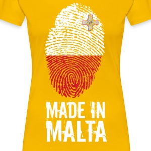 Made In Malta - Women's Premium T-Shirt