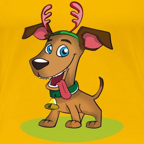 lustiger Hund - Frauen Premium T-Shirt