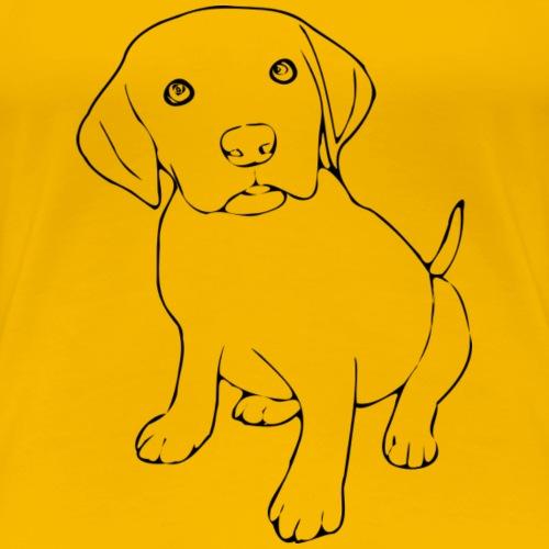 Labrador - Frauen Premium T-Shirt