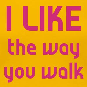 Vierdaagse Nijmegen - I Like the Way PINK - Vrouwen Premium T-shirt