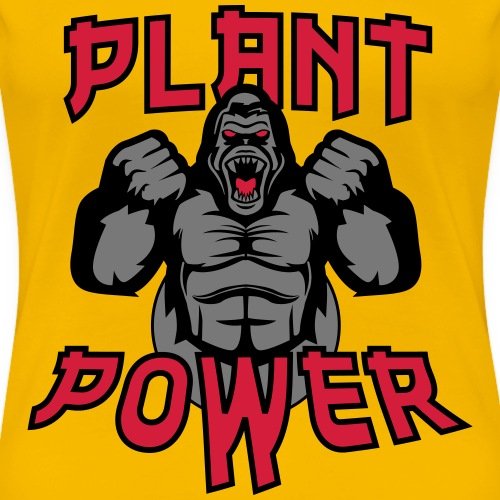 Plant Power - Frauen Premium T-Shirt
