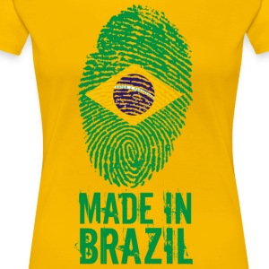 Made in Brazil / Made in Brazil Brasil - Women's Premium T-Shirt