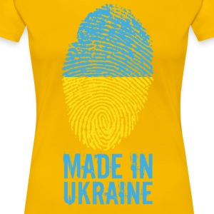 Laget i Ukraina / Made in Ukraina Україна - Premium T-skjorte for kvinner