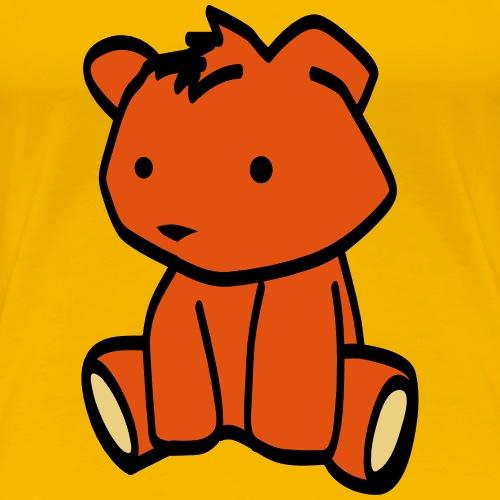 der kleine teddy für dich - Frauen Premium T-Shirt
