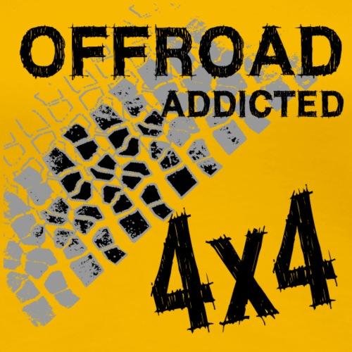 OFF Road Addicted - Frauen Premium T-Shirt