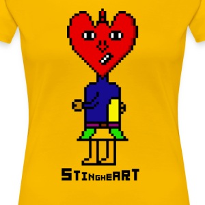 Sting Heart - Women's Premium T-Shirt