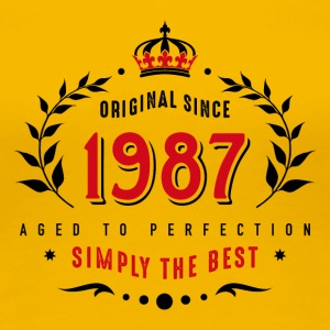 original since 1987 simply the best 30th birthday - Women's Premium T-Shirt