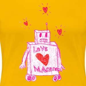 The Love Machine - Premium T-skjorte for kvinner