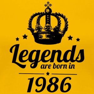 Legends 1986 - Dame premium T-shirt