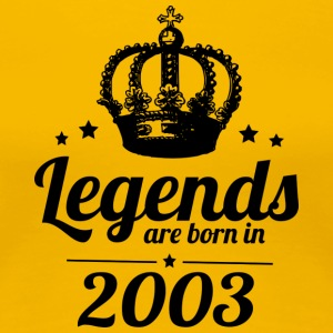 Legends 2003 - Vrouwen Premium T-shirt