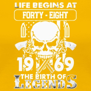 1969 the birth of the Legends shirt - Women's Premium T-Shirt