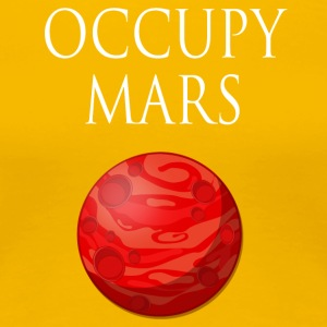 Occupy mars Space - Premium T-skjorte for kvinner