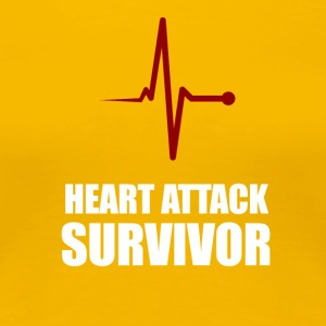 Heart Attack Survivor - Frauen Premium T-Shirt